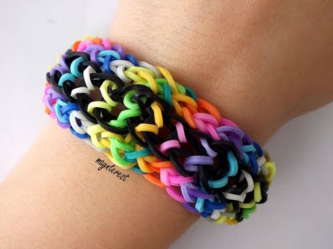 Pulsera de gomitas Raíl   Rail bracelet