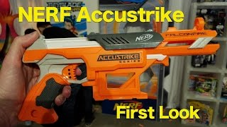 NERF Accustrike Alphahawk and FalconFire, HANDS-ON BLASTING With New Accustrike DARTS