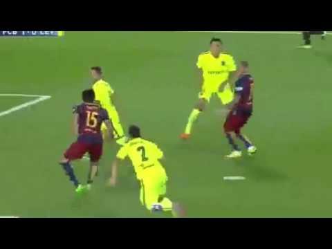 Melhores Momentos: Barcelona 4 x 1 Levante - Camp Espanhol 20/09/15