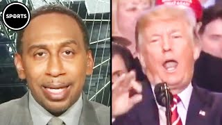 Stephen A. Smith Calls Outs Trump's Racist Tweet