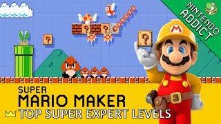 Top 10 Super Expert Levels | Super Mario Maker | July 2018