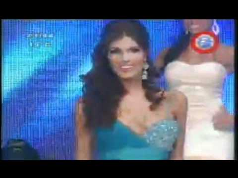 Miss Paraguay 2011 Crowning Moment