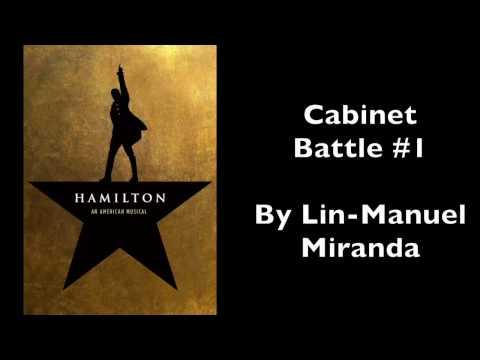 Hamilton | Cabinet Battle #1 [Instrumental/Karaoke with Lyrics]
