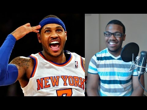 NBA Fan Reaction to Carmelo Anthony Resigning with The New York Knicks!!