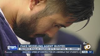 Fake modeling agent pleads not guilty in sex case