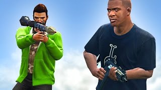 NEW GTA 5 LAND GRAB DLC! (GTA 5 Funny Moments)