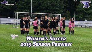 Stonehill Women's Soccer 2019 Season Preview