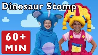 Dinosaur Stomp and More | Nursery Rhymes from Mother Goose Club!