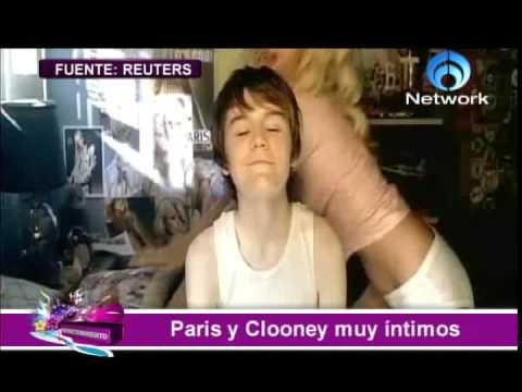 Paris Hilton y George Clooney juntos!! CAPSULA TeleFormula NETWORK Video