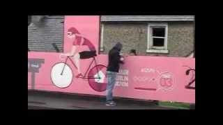 Keady South Armagh Ireland, prepares for the Giro d,Itaila