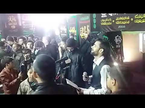 Noha Fatema ka bhare madine me Ghar bachane koi Nahi aya