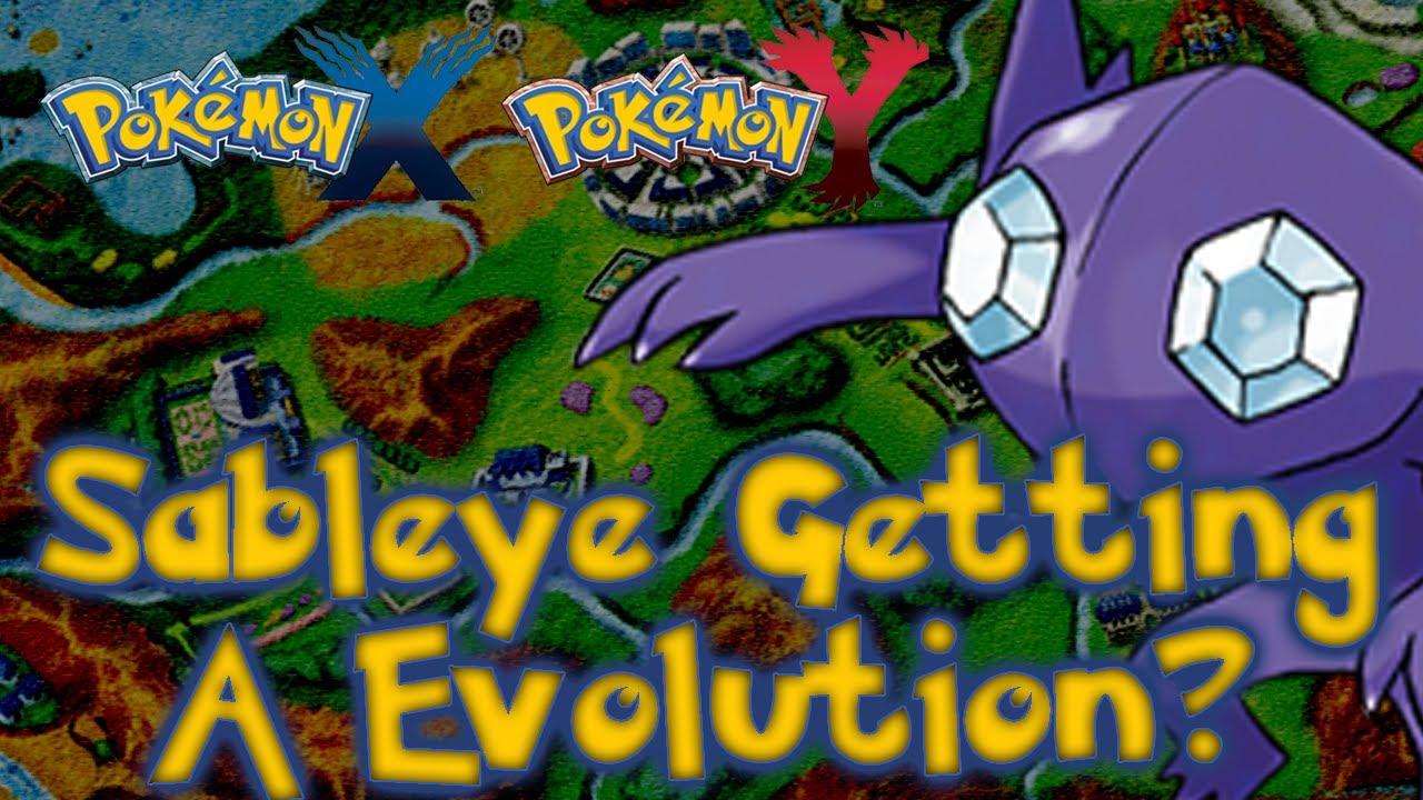 Pokémon X and Y - Sableye Getting An Evolution!? - YouTube