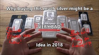 Why you should NOT buy TOO MUCH silver in 2018!