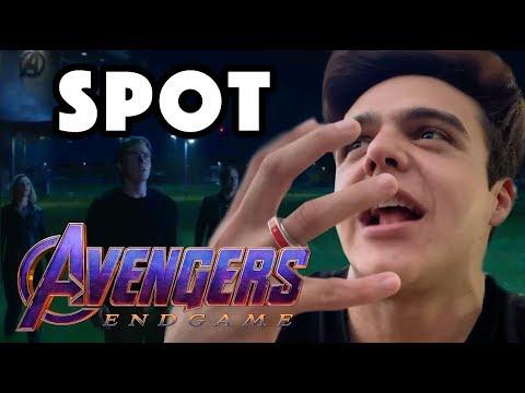 ¡SPOT de AVENGERS ENDGAME del SUPER BOWL 2019! / NAVY