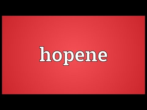 Header of hopene