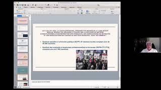 Jugement de la Cour supérieure du Québec dans la contestation de la Loi 15