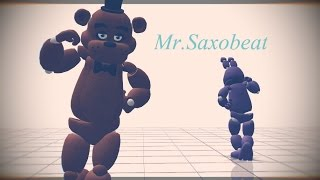 【MMD x FNAF】Bonnie and Freddy  - Mr. Saxobeat