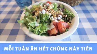 Du học Pháp #1 Đi chợ và tính toán chi tiêu ăn uống mỗi tuần   Vlog