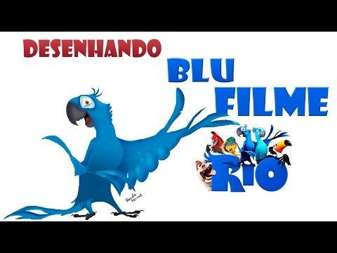 Desenhando o Blu (FILME RIO)