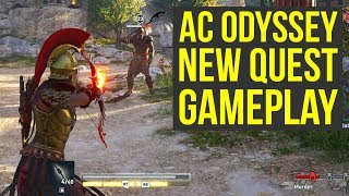 Assassin's Creed Odyssey Gameplay NEW QUEST Shows Choices & More (AC Odyssey Gameplay)