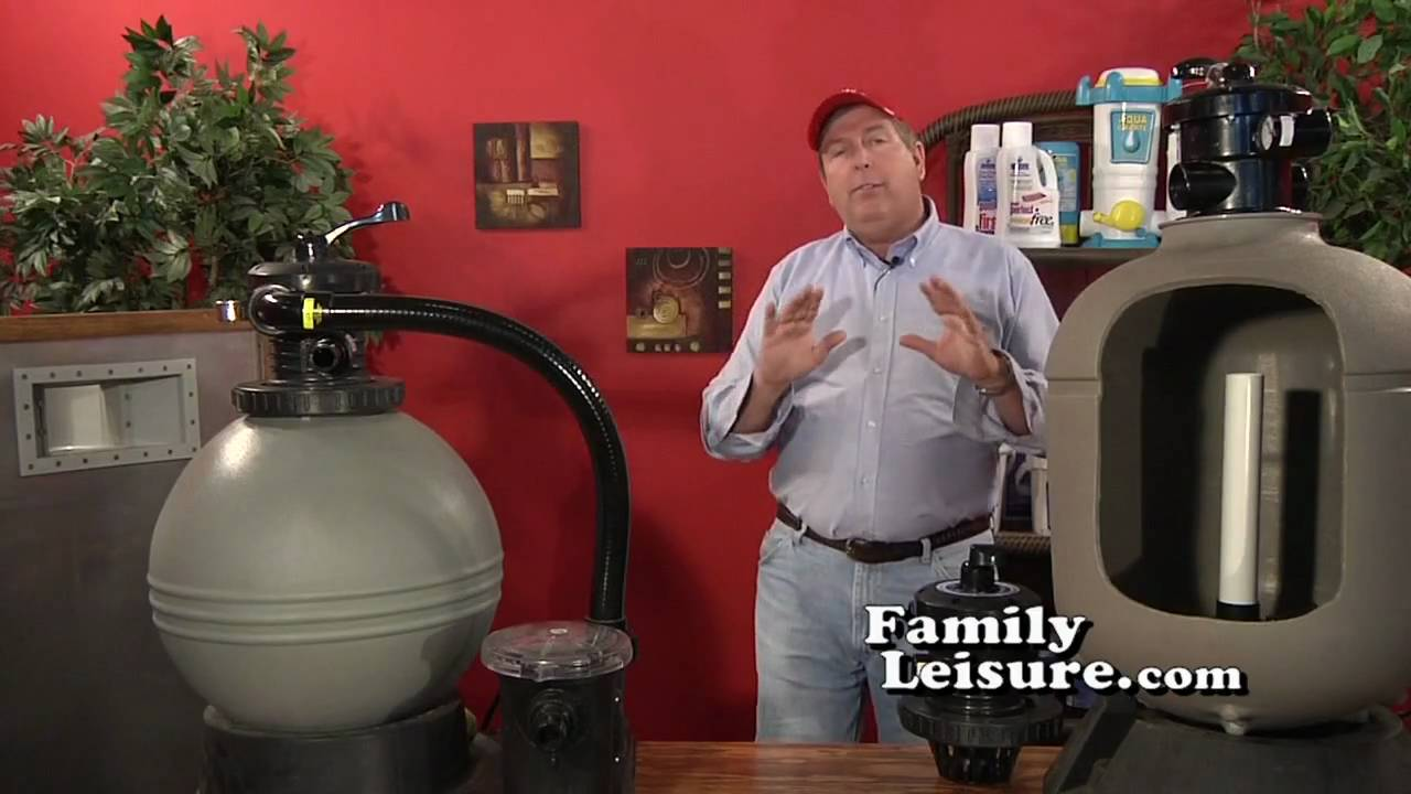 New Pool School 09 Swimming Pool Sand Filter Part 1 Of 2 Family Leisure Youtube