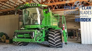 Mowing, Moving Corn, Harvest 19 Prep Continues| Kondex Straw Claw Blades
