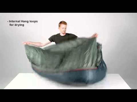 Pajak RADICAL 8H  16H expedition down sleeping bag  ekspedycyjny śpiwór puchowy