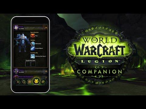 World Of Warcraft: Legion Companion App
