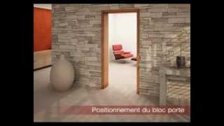 Porte rénovation chambranle Paul ceyrac E-couliss