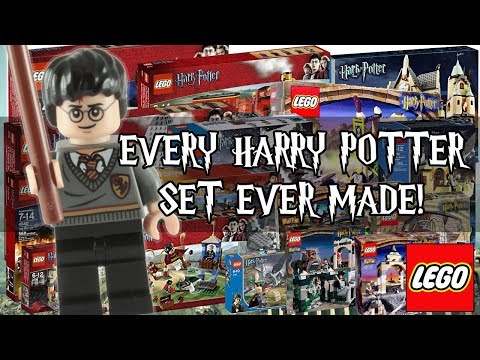 Every Harry Potter Lego Set Ever Made! 2001-2017!