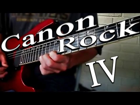 Canon Rock Lesson 4 (NEW SERIES)