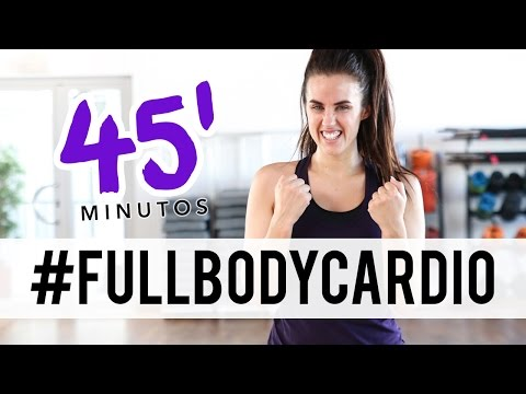 VIDEO: RUTINA PARA TONIFICAR Y ADELGAZAR RÁPIDO 45 MINUTOS FULL BODY CARDIO