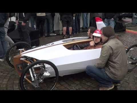 Blitz gravity racer - Redbull soapbox race Brussels 2012