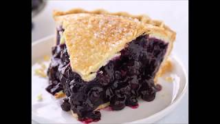 Old Fashioned BLUEBERRY PIE RECIPE
