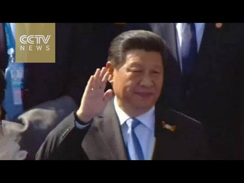 Xi Jinping attends Moscow's Victory Day parade