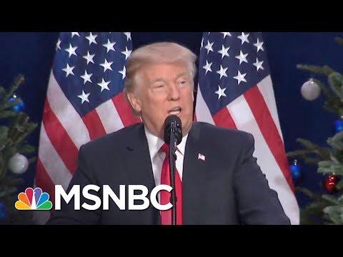 Donald Trump Opens Up About Mueller, Russia Probe In Impromptu Interview | Rachel Maddow | MSNBC