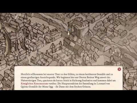 Die iPad App für Fans von Terry Pratchetts Scheibenwelt: Ankh-Morpork-Stadtführer