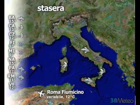 Meteo Italia del 18/11/2010