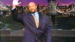 Kirby Puckett Does Top Ten List On Letterman - Late Show