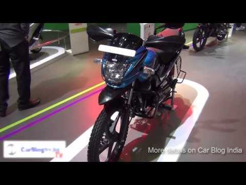 Hero Passion Pro Tr Special Off Road Edition Motorcycle From Hero Motocorp At Auto Expo 2014 video