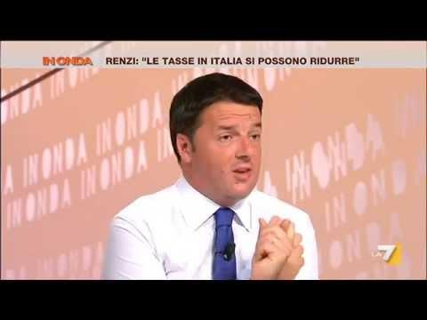 In Onda - L'Italia in recessione, parla Matteo Renzi (Puntata 07/08/2014)