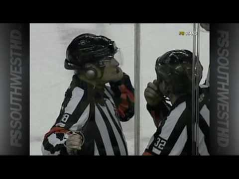 Marty Turco save on Jarome Iginla 11 Feb 10 Video