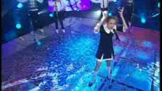 Eglė Jurgaitytė - Laiminga diena (Vaikų Eurovizija 2008)