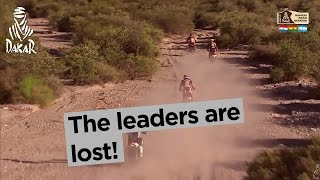 Stage 10 - Top moment: The leaders are lost! - Dakar 2017