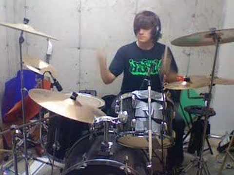Atreyu - Falling Down Drum Cover