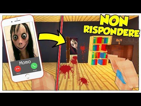 NON CHIAMARE IL NUMERO DI MOMO! - Minecraft ITA