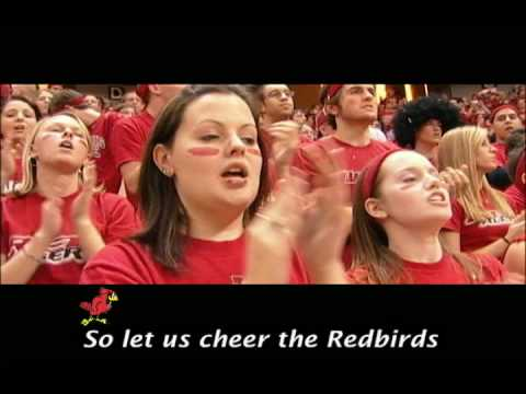 Learn the words to the Illinois State Fight Song! Once your learn it, you can cheer and sing along at all Redbird Athletics events! ISU Go! For more informat...