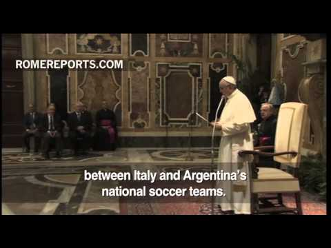 Rome ready for soccer friendly in honor of Pope Francis