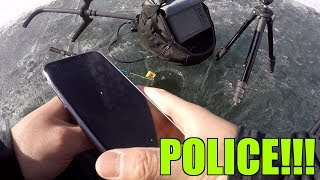 POLICE CALL ME TO SEE IF I DIED WHILE ICE FISHING??? (Please help)