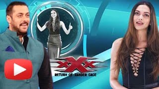Salman Khan To Launch Deepika Padukone XXX Return Of Xander Cage New Trailer